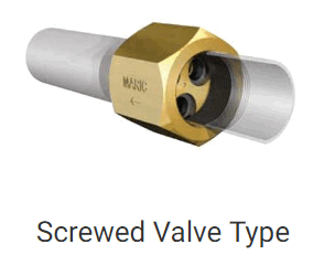 Screwed Valve Type
